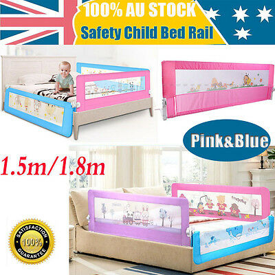 Chic 2 Size Safety Child Toddler Bed Rail Baby Bedrail Fold Cot Guard Protection