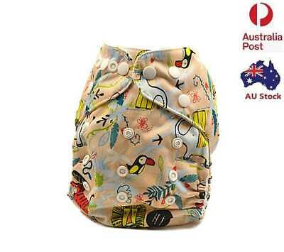 New Baby Boy Girl Unisex Modern Cloth Nappies MCNs Diaper Adjustable Nappy (D23)
