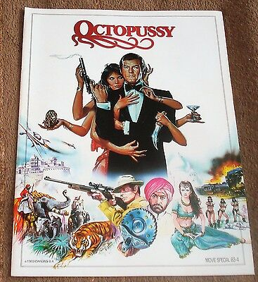 OCTOPUSSY (original souvenir program)