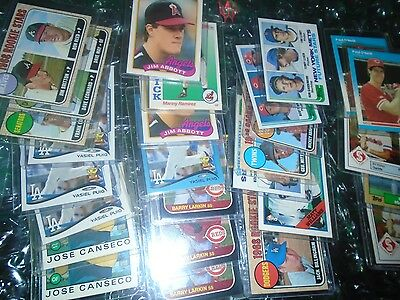 Large Baseball RC Rookie 171 Card Lot Tons of good names in toploaders