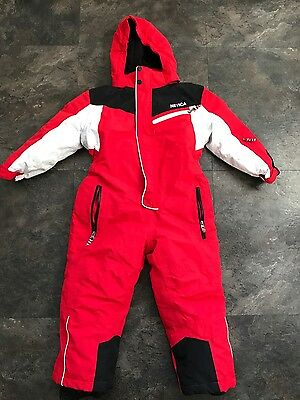 Nevica Kids Waterproof Ski Snow Suit all in one Size 5-6 years boys girls