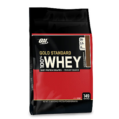 OPTIMUM NUTRITION 100% WHEY // 10LB 4.5kg GOLD STANDARD + BLENDER BOTTLE SHAKER