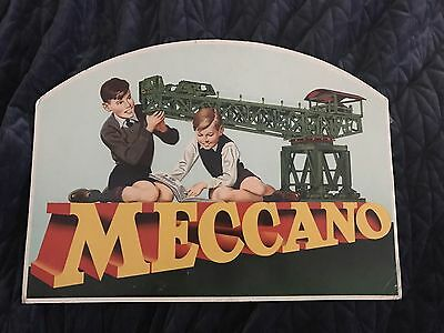 Meccano Original Old Shop Display!!! Extremely Rare!