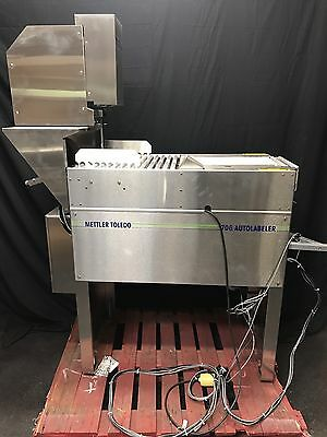 Mettler Toledo Auto Labeler 706 Commercial Meat Packaging Wrapping Machine
