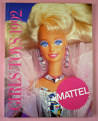 1992 Mattel Catalog Girls Toys - Barbie, Shani, 90210, Polly Pocket, Disney, Etc