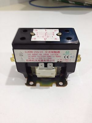 Cjx9B-25S/01 Air Conditioner Coil Magnetic Contactor 220V