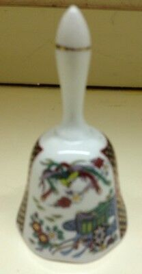 Imari Japanese Porcelain Pottery Bell, Antique - Used Wonderful Condition