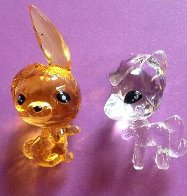 "Crystal Surprise Series 1 Lot Of 2: ""Dash"" And RARE clear ""Glitzy""!"