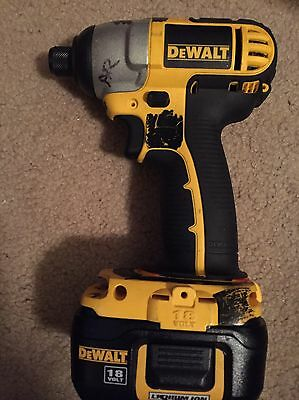 Used DEWALT Driver And  Battery