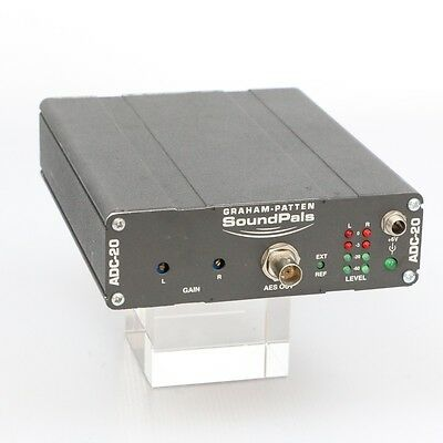 Graham-Patten Systems SoundPals ADC-20 Analog to Digital Audio Converter XLR/BNC