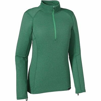 New Patagonia Capilene Thermal Weight Zip Neck Top - Green - Large