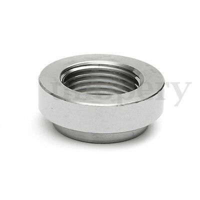 430 Stainless Exhaust Weld-On Nut For Lambda Boss O2 Oxygen Sensor M18 x 1.5mm