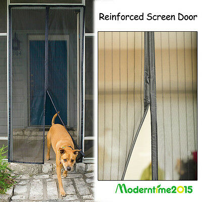 Flux Phenom Screen Doors Magnetic Screen Rip Proof Mesh Fly Insect Guard Curtain