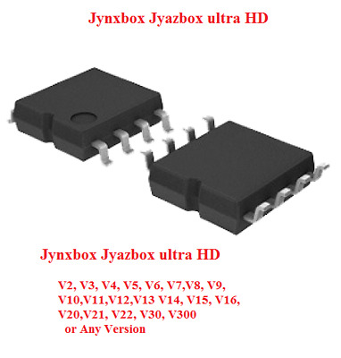 U7 Flash Chip for Jynxbox Ultra HD V30 Satellite Receivers