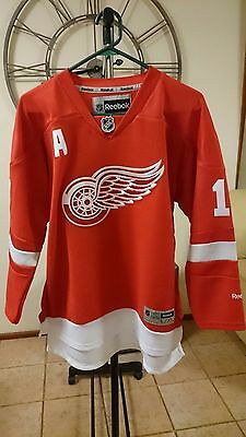Official Detroit Red Wings Pavel Datsyuk/'a' Premier Home Jersey (Y/xl)