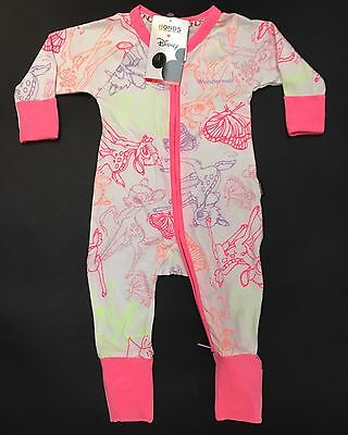 BONDS Baby Girl DISNEY WONDERSUIT ZIPPY Sleepsuit BAMBI Size 0 6-12 Mth RR$39.95