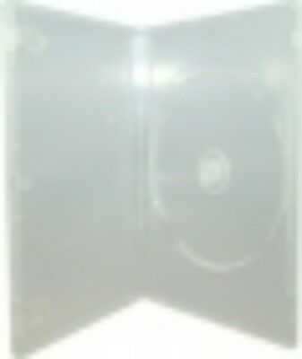 NEW GENERIC DVDCASE-CS1 DVD CASE SLIM FIT 1 CLEAR 7MM....f.
