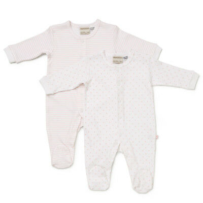 NEW Marquise Stars & Stripes Pink and White Growsuit Set 2pce