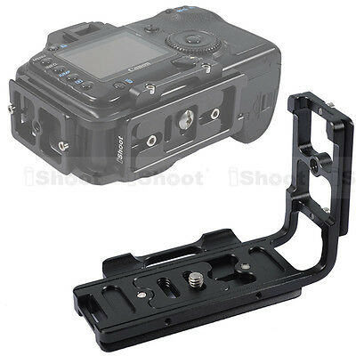 L-Shaped Quick Release Plate/Camera Bracket Grip for Canon EOS 5D&Mark II/III