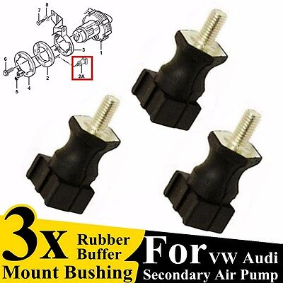 3Pcs Secondary Air Pump Mount Bushing For Audi VW Jetta Golf Passat 06A133567A