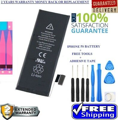Brand New Original Genuine OEM Replacement Battery for iphone 5S/5C 1560mAh KIT