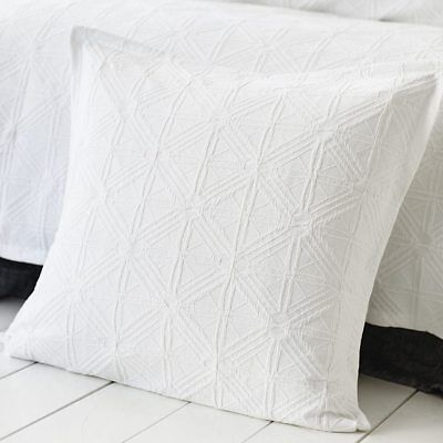 NEW Home Republic Villa White Quilt Cover