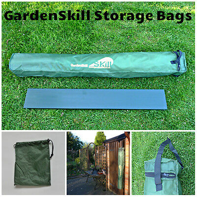 1.3m Long Green Garden gardening plant stakes bamboo cane Storage Carry Case/Bag