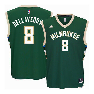 Youths Matthew Dellavedova Milwaukee Bucks NBA Replica Jersey - Green