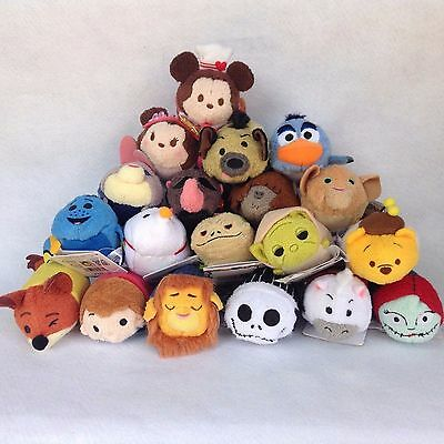 NEW Disney Plush-toy Tsum Tsum You can choose your favorite character from Japan