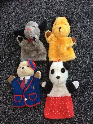 Sooty, Sweep, Soo & Scampi Hand Puppets