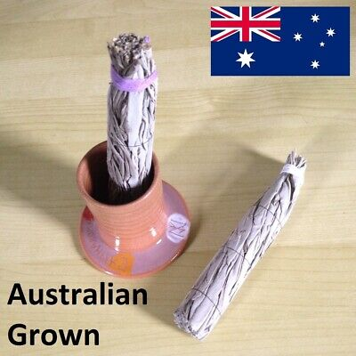 Smudging Kit - 2 x Smudge Sticks and Snuffer - Australian Grown - Organic
