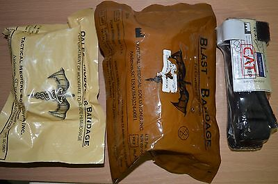Genuine Army Issue CAT TOURNIQUET Medic First Aid + 2 X Emergency Bandage