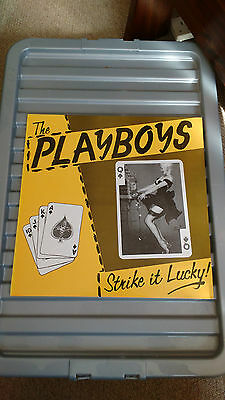 The Playboys - Strike It Lucky - Record Lp