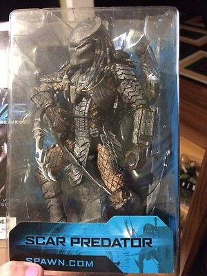 "Scar Predator 8 1/4"" Alien Vs Predator 2004 New In Package"