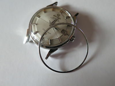 Pie Pan Constellation Stainless Steel Watch Bezel For Vintage OMEGA