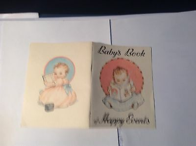 State Savings Bank of Victoria  Baby's Book of Happy Events 1950's