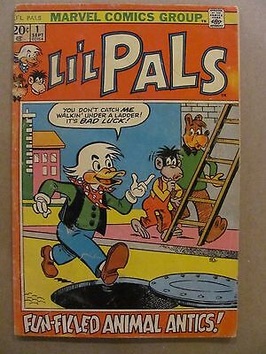 Li'l Pals #1 #2 Marvel Comics 1972 Series