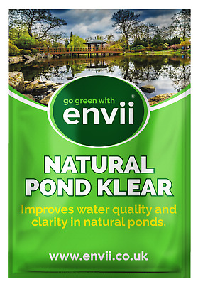 Envii Natural Pond Klear – Natural Pond Cleaner Removes Green Water and Sludge
