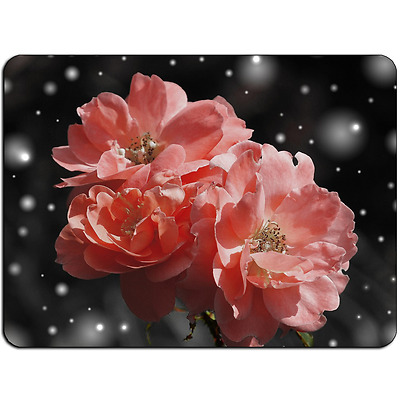 Mousepad EasyGrip Non Slip Mouse Pad Rose Flower Y00092