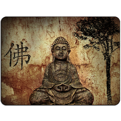 Mousepad EasyGrip Non Slip Mouse Pad Vintage Buddha Y00012