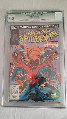 Amazing Spider-Man #238 cgc 7 1st app Hobgoblin  box have a griet, see picture