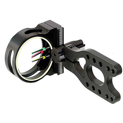 PSE Gemini Sight Compound Hunting bow Sight 3 Pin Black