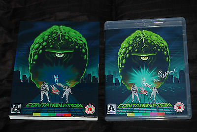 Contamination - OOP Arrow Ltd Slipcover Blu - Ian McCulloch Signed Lucio Fulci