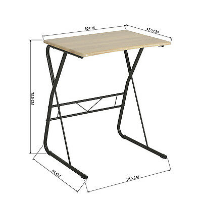 Laptop Table Stand Lap Sofa Bed Tray Computer Notebook Study Workstation Desk