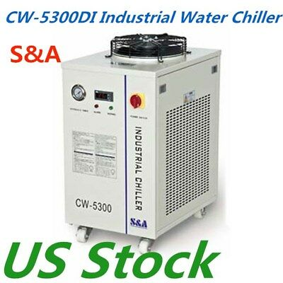 USA Stock CW-5300DI Industrial Water Chiller 0.91HP Cooling AC 1P 110V 60HZ