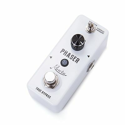 Phaser Pedal Mini Portable Guitar Effect Pedal True Bypass Durable Guitar Parts