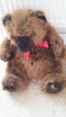 "Harrods Bear 1992 - 13"" Foot Dated"
