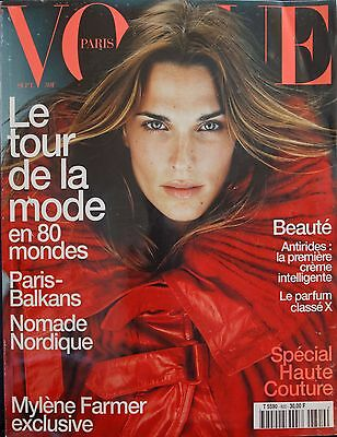 Magazine VOGUE Paris - #800 - FévrSeptembre 1999