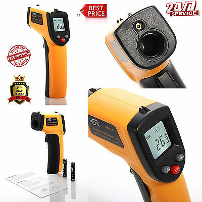 IR Infrared Digital Temperature Thermometer (-50 °C to 330 °C) Heat Gun
