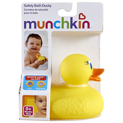 Baby Bath Rubber Duck Toy Water Floating Ducky with Hot Water Safety Indicator